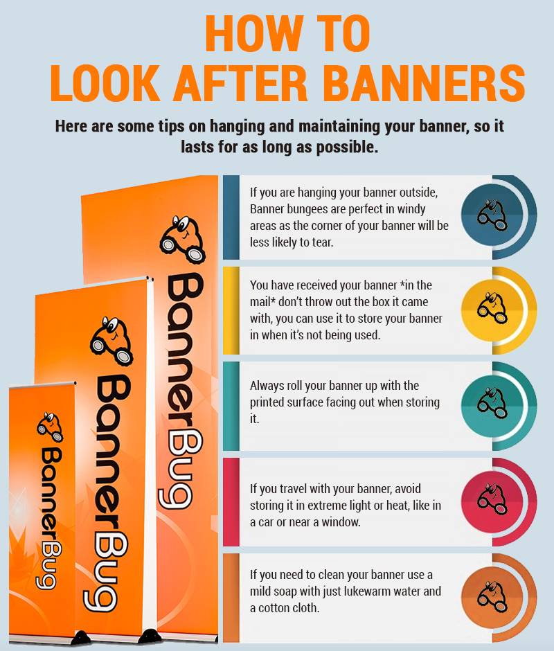 How To Look After Banners